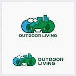 Darkhydeさんのアウトドア施設の運営会社「株式会社OUTDOOR LIVING」のロゴへの提案