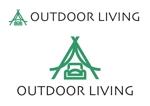 YoshiakiWatanabeさんのアウトドア施設の運営会社「株式会社OUTDOOR LIVING」のロゴへの提案