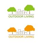 hokusai0214さんのアウトドア施設の運営会社「株式会社OUTDOOR LIVING」のロゴへの提案