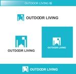 FISHERMANさんのアウトドア施設の運営会社「株式会社OUTDOOR LIVING」のロゴへの提案