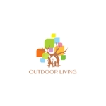 syotagotoさんのアウトドア施設の運営会社「株式会社OUTDOOR LIVING」のロゴへの提案