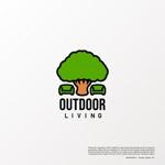 OhnishiGraphicさんのアウトドア施設の運営会社「株式会社OUTDOOR LIVING」のロゴへの提案