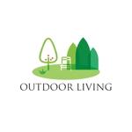 sriracha829さんのアウトドア施設の運営会社「株式会社OUTDOOR LIVING」のロゴへの提案
