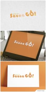 nobuworksさんのサウナキュレーションサイト「サウナGO」のロゴへの提案