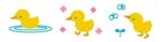 shakunageさんのアヒルのロゴ(刺繍用)への提案