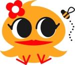yamano_tanukiさんのアヒルのロゴ(刺繍用)への提案