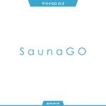 queuecatさんのサウナキュレーションサイト「サウナGO」のロゴへの提案