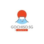 【日本食×WEBアプリのロゴ】海外のネットお弁当宅配、日系レストランのWEB予約アプリのロゴデザインへの提案