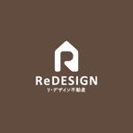 fuji_sanさんの『リ・デザイン不動産』のロゴタイプへの提案