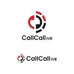 smartdesignさんの電話とアプリをつなげるサービス「CallCall IVR」のサービスロゴへの提案