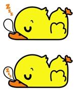 puppytailさんのアヒルのロゴ(刺繍用)への提案