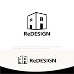 drkigawaさんの『リ・デザイン不動産』のロゴタイプへの提案
