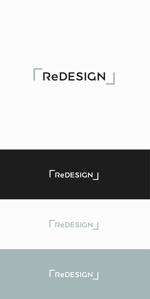 designdesignさんの『リ・デザイン不動産』のロゴタイプへの提案