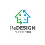 wawamaeさんの『リ・デザイン不動産』のロゴタイプへの提案