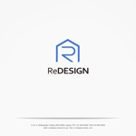 yahhidyさんの『リ・デザイン不動産』のロゴタイプへの提案