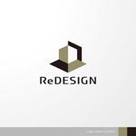 sa_akutsuさんの『リ・デザイン不動産』のロゴタイプへの提案
