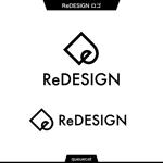 queuecatさんの『リ・デザイン不動産』のロゴタイプへの提案