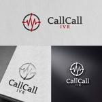 zeross_designさんの電話とアプリをつなげるサービス「CallCall IVR」のサービスロゴへの提案