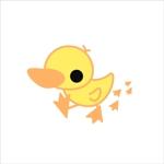 naruさんのアヒルのロゴ(刺繍用)への提案