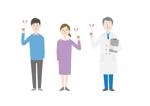 医師と患者のイラストへの提案