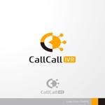 sa_akutsuさんの電話とアプリをつなげるサービス「CallCall IVR」のサービスロゴへの提案