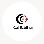 Atelier08さんの電話とアプリをつなげるサービス「CallCall IVR」のサービスロゴへの提案