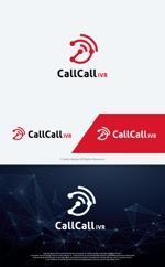 take5-designさんの電話とアプリをつなげるサービス「CallCall IVR」のサービスロゴへの提案