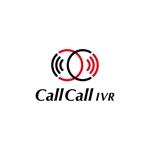 ibuki045さんの電話とアプリをつなげるサービス「CallCall IVR」のサービスロゴへの提案