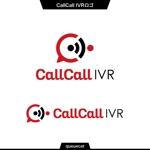 queuecatさんの電話とアプリをつなげるサービス「CallCall IVR」のサービスロゴへの提案