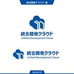 queuecatさんの【当選報酬4万円/参加報酬あり】NTTデータグループ クラウドサービスのロゴ制作への提案
