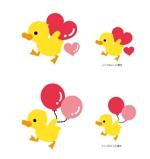yui_0330さんのアヒルのロゴ(刺繍用)への提案