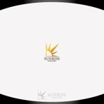 hayate_desgnさんの美容室への卸売り会社「㈱サンライズ福岡」のロゴへの提案