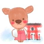 宮島の鹿のキャラクターデザインへの提案