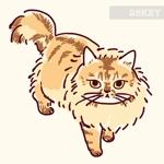 猫のイラスト5種類 キャラクターデザインへの提案