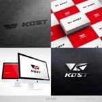 blockdesignさんのスポーツ用品ブランド「KDST」のロゴ制作への提案