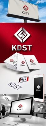 katsu31さんのスポーツ用品ブランド「KDST」のロゴ制作への提案