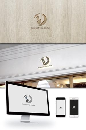ldz530607さんの新会社「株式会社ビジネス・デザイン・スタジアム」のロゴへの提案