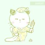 脱力系、癒し系のゆるくてかわいい猫のイラストを描いてほしいへの提案
