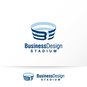 katachidesignさんの新会社「株式会社ビジネス・デザイン・スタジアム」のロゴへの提案