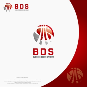 landscapeさんの新会社「株式会社ビジネス・デザイン・スタジアム」のロゴへの提案