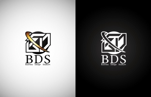 makio3さんの新会社「株式会社ビジネス・デザイン・スタジアム」のロゴへの提案