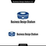 queuecatさんの新会社「株式会社ビジネス・デザイン・スタジアム」のロゴへの提案