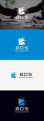 tanaka10さんの新会社「株式会社ビジネス・デザイン・スタジアム」のロゴへの提案