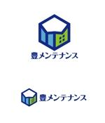 horieyutaka1さんの店舗のリフォーム、メンテナンス事業「豊メンテナンス株式会社」のロゴ作成への提案