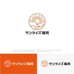 drkigawaさんの美容室への卸売り会社「㈱サンライズ福岡」のロゴへの提案
