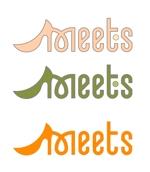katu3455さんの女性らしい可愛い靴ブランド「Meets」のロゴ制作への提案