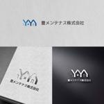 zeross_designさんの店舗のリフォーム、メンテナンス事業「豊メンテナンス株式会社」のロゴ作成への提案