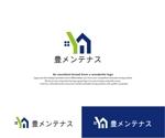 hope2017さんの店舗のリフォーム、メンテナンス事業「豊メンテナンス株式会社」のロゴ作成への提案
