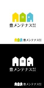 MHMHさんの店舗のリフォーム、メンテナンス事業「豊メンテナンス株式会社」のロゴ作成への提案