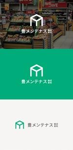 tanaka10さんの店舗のリフォーム、メンテナンス事業「豊メンテナンス株式会社」のロゴ作成への提案